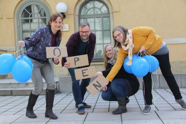 Foto: Ute Blumtritt, Christian Schmidt, Carolin Ahnert, Martina Jackenkroll (von links)