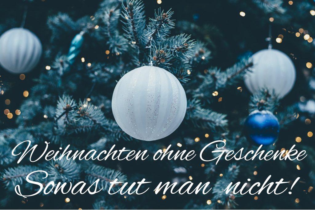 Weihnachten Ohne Geschenke Sowas Macht Man Doch Nicht Campus