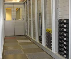 der modernisierte Serverraum des URZ