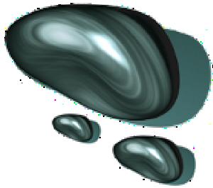 ONYX-Logo: drei Steine