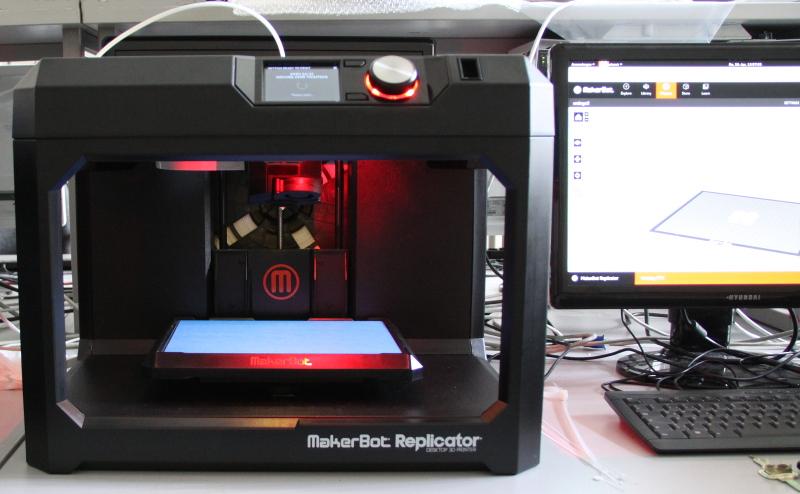 der Makerbot Replicator des URZ