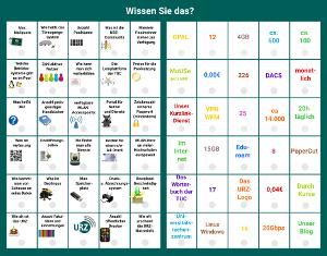 elektronisches Wissensspiel zum URZ