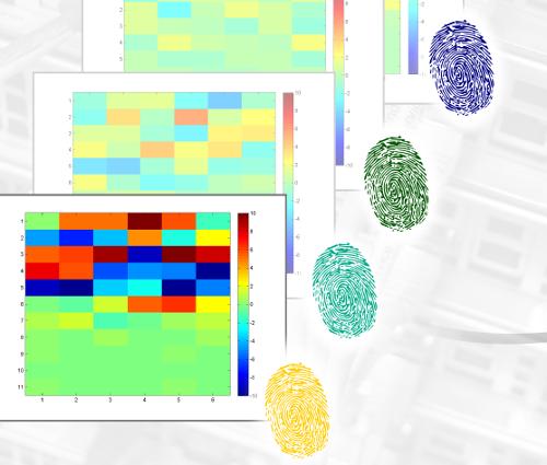 Grafik Wärmetabellen und Fingerabdrücke