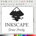 Inkscape-Logo in Inkscape