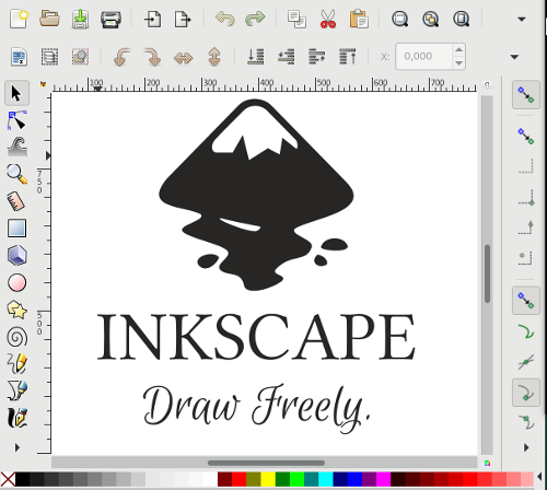 Inkscape-Logo in Inkscape