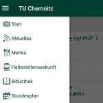 Screenshot TUC App