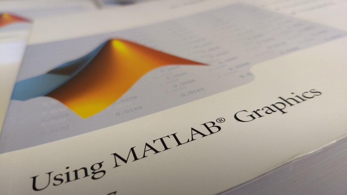 Foto Ausschnitt MATLAB-Buch