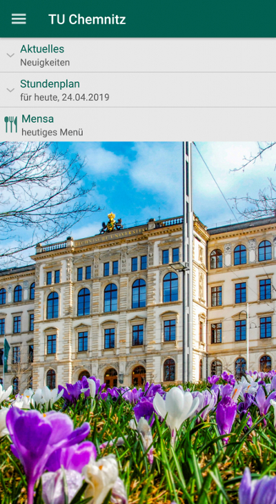 TU Chemnitz App Version 1.6.0