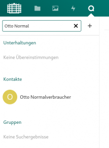 TUCcloud Chat erstellen