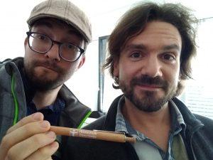 Magnus Ksiazekt und Daniel Prantl